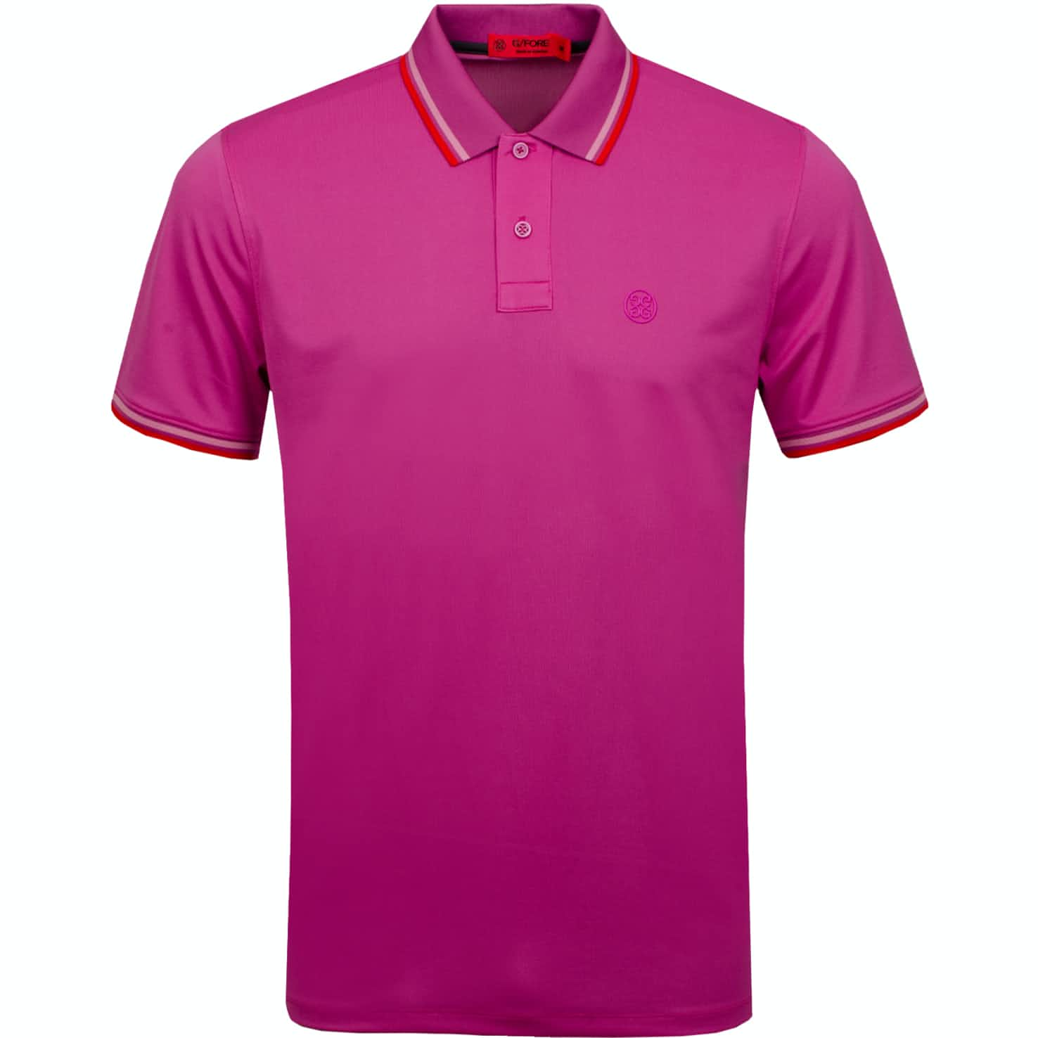 Tipped Polo Rose Violet - SS19