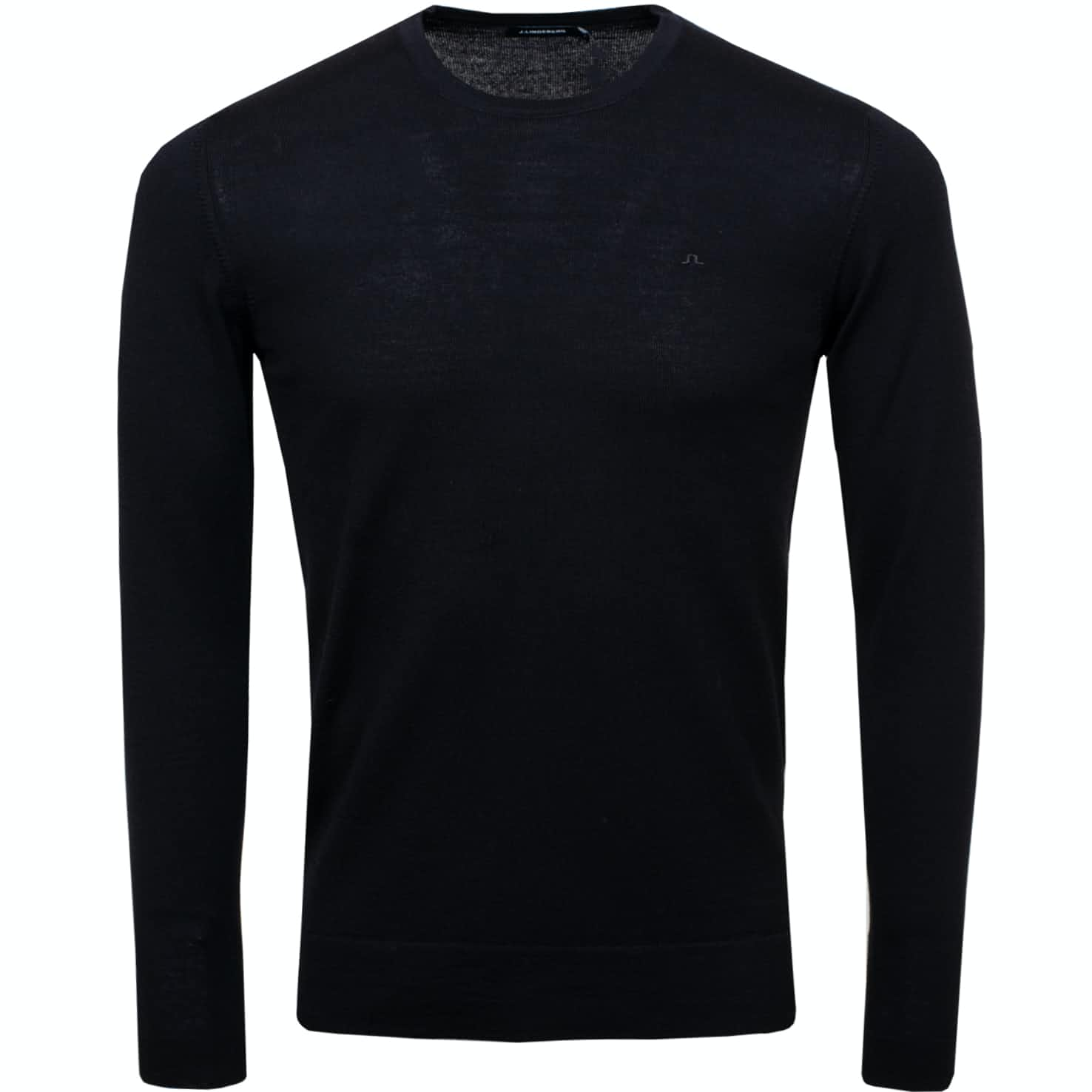 Newman C-Neck Perfect Merino Black - SS19