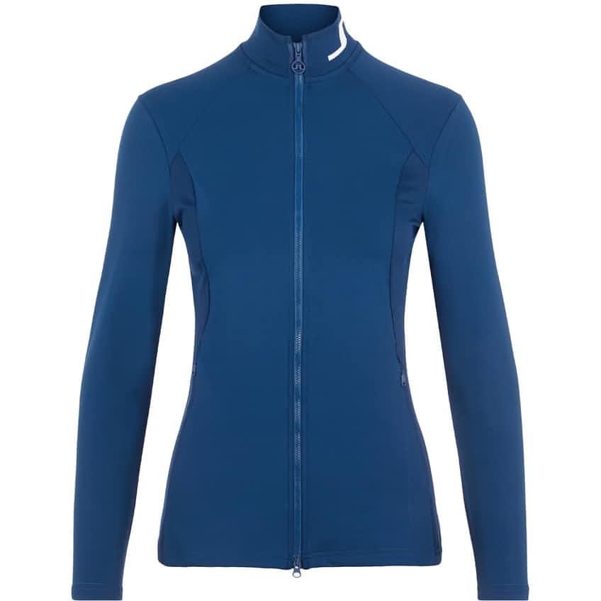 Womens Therese Sport Jersey Mid Layer Midnight Blue - SS21