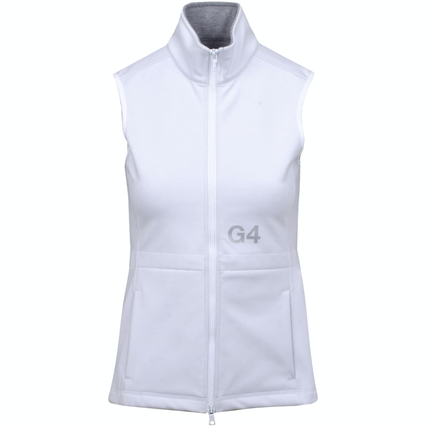 Womens Tech Fleece Vest Snow - SS19