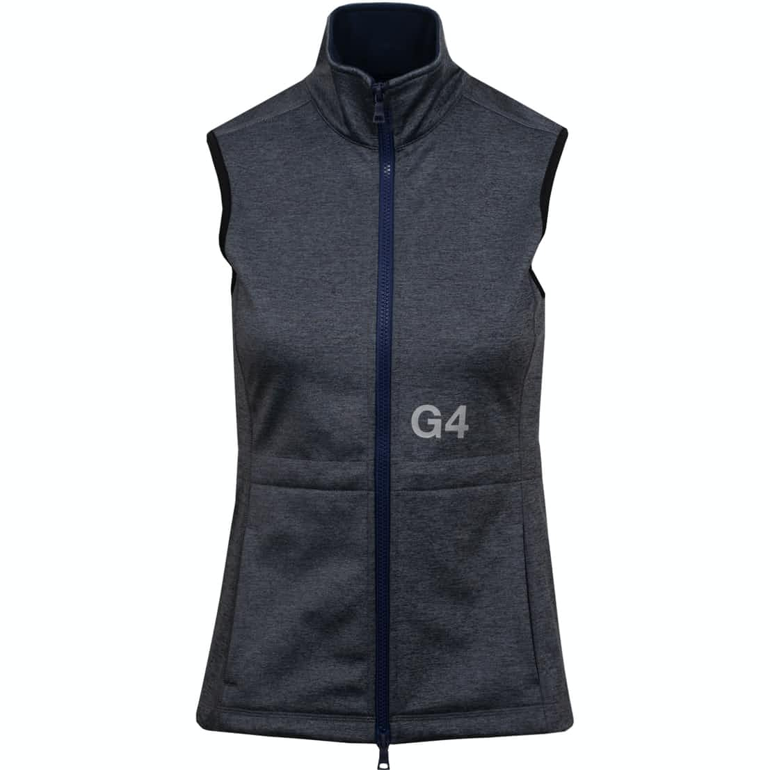 Womens Tech Fleece Vest Heather Grey - SS19