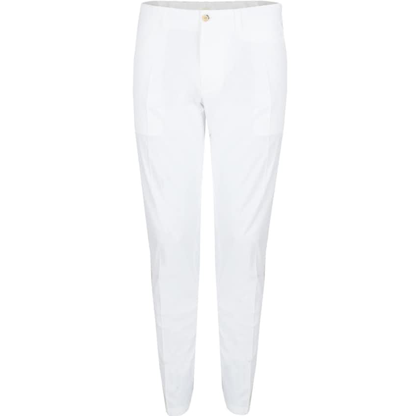 Elof Light Poly Stretch Recycled Pants White - SS21