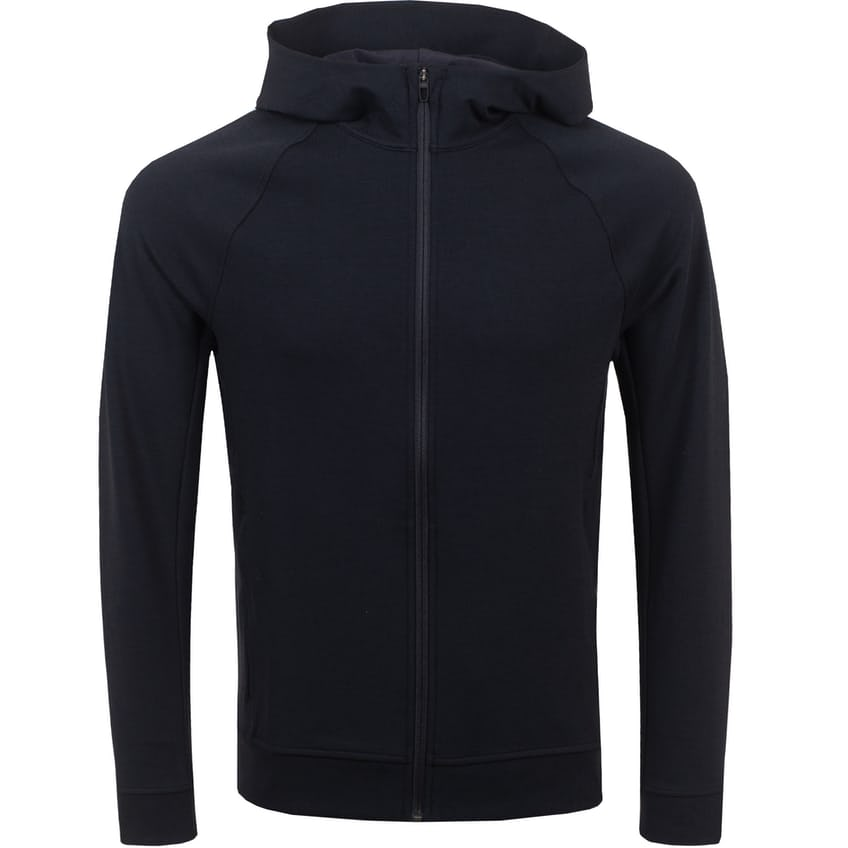 x TRENDYGOLF City Sweat Full Zip Hoodie Black - SS21