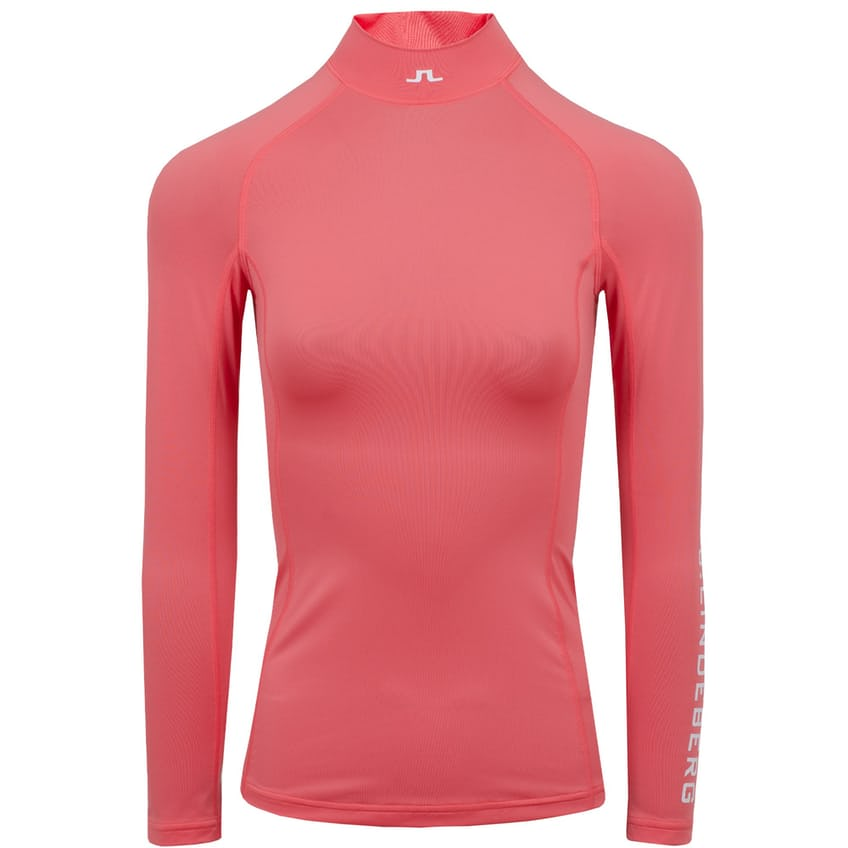Womens Asa Soft Compression Top Tropical Coral - SS21