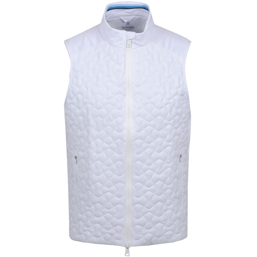 4.1 Quilted Vest Snow - SS21