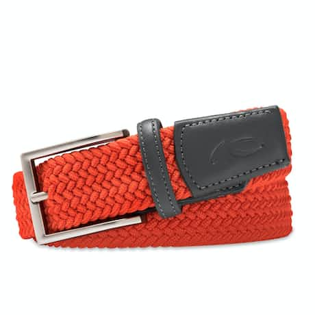 Classic Webbing Belt Blood Orange - SS19
