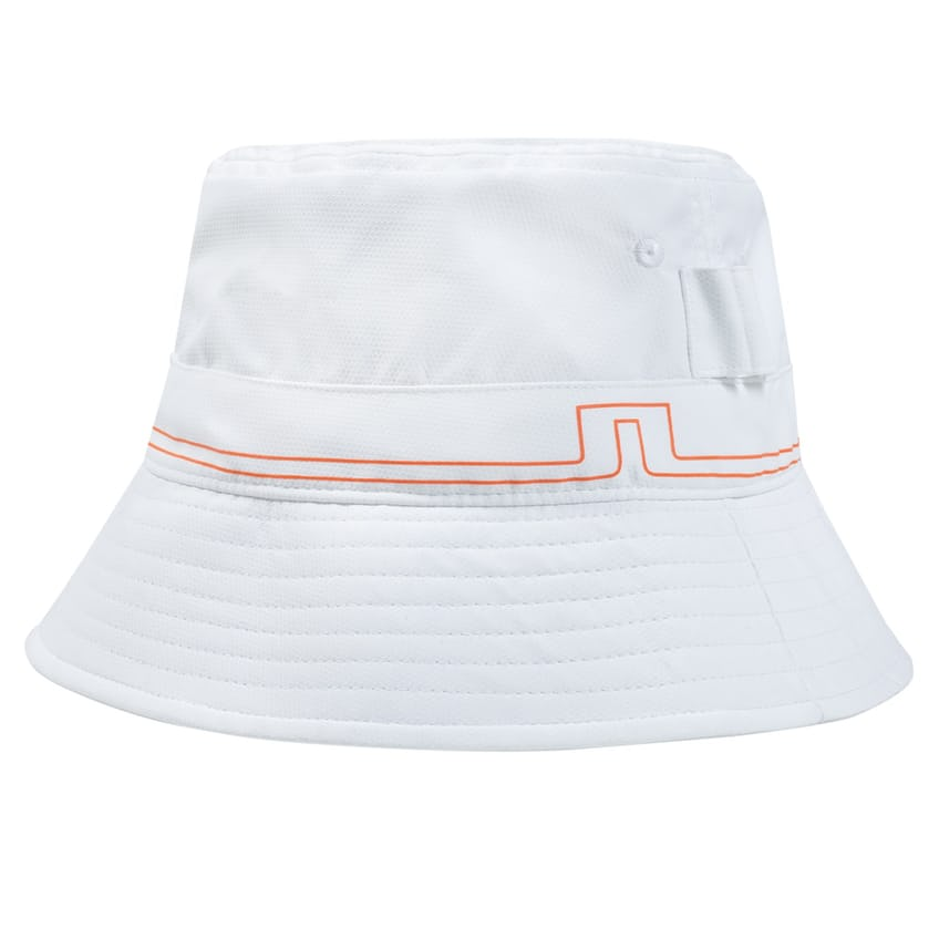 Hans Micro Poly Bucket Hat White - SS21