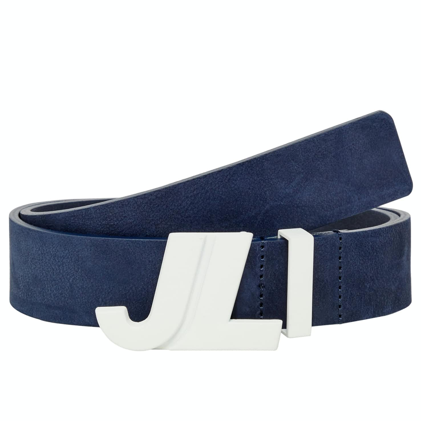 Iconic Brushed Leather JL Navy - SS19