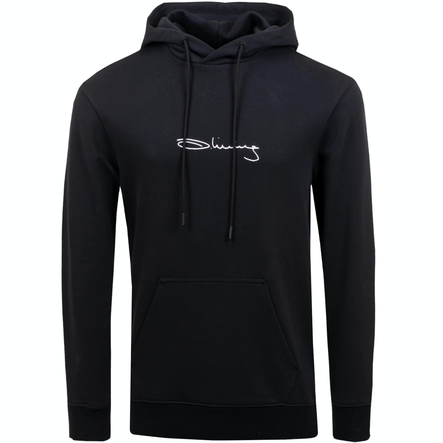 Iconic Hoodie French Terry Black - SS19