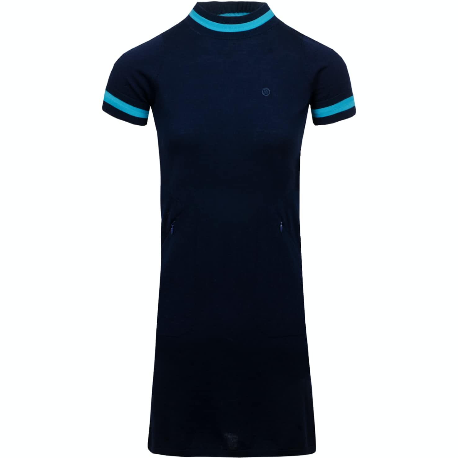 Womens Short Sleeve Mock Dress Twilight - SS19
