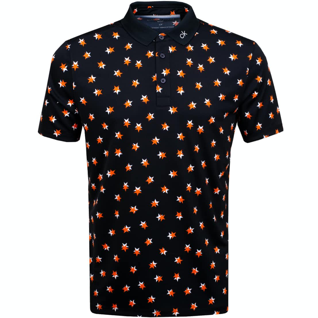 Scalar Polo Black/Orange - SS19