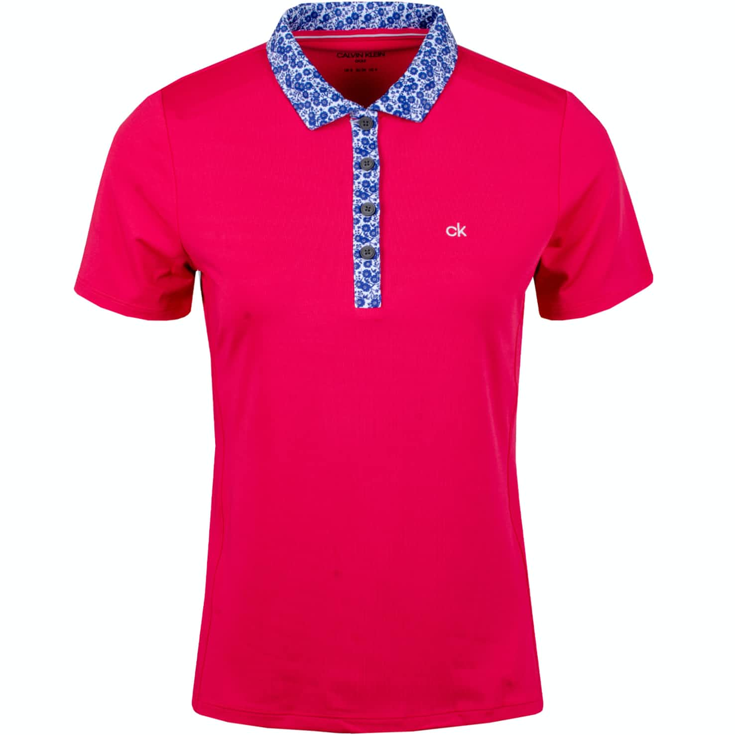 Womens Acadia Polo Punch Pink - SS19