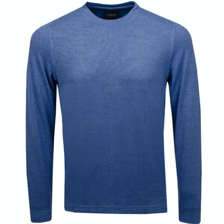 Stirling LS Crew Mid Blue Heather - SS19