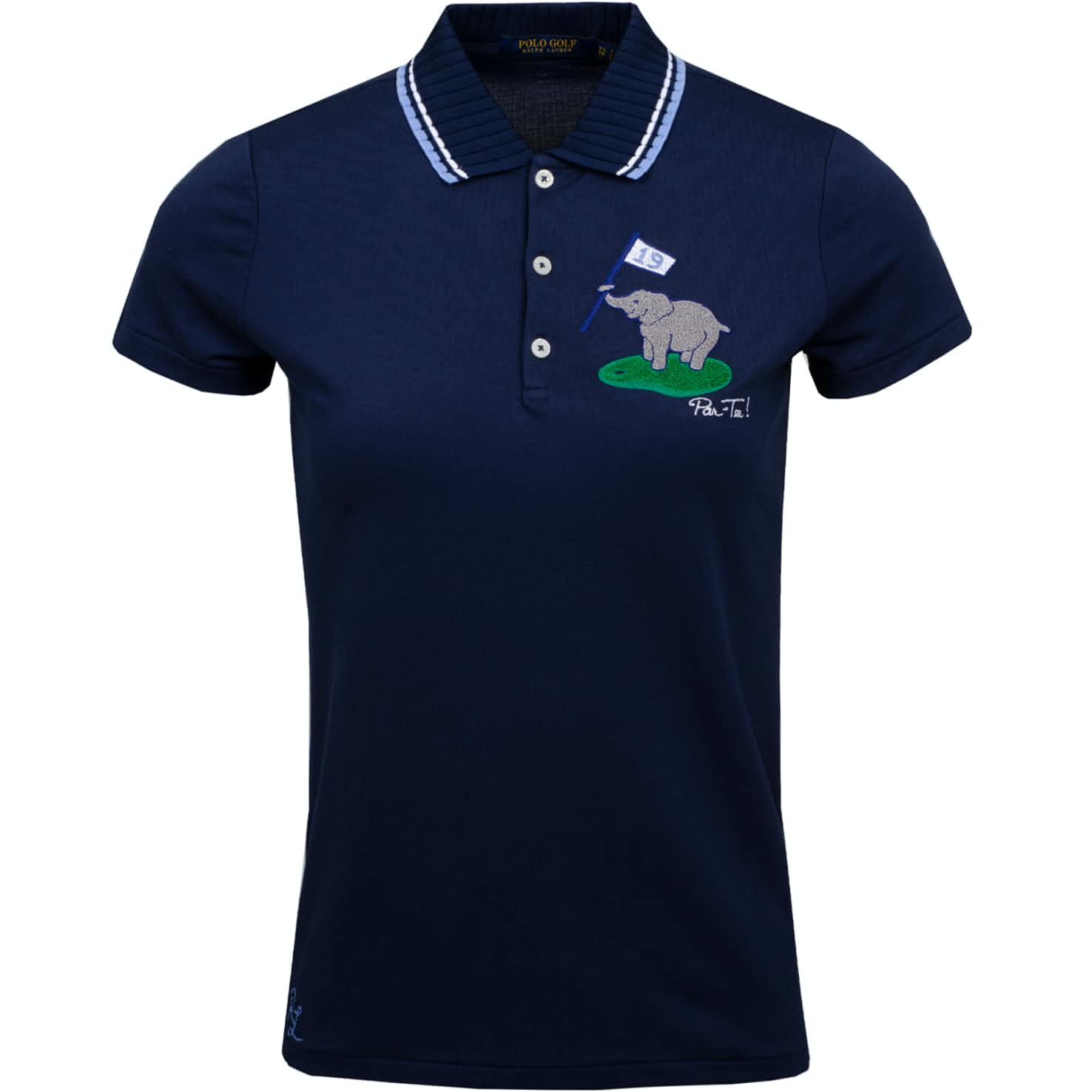 Womens Par-Tee Polo French Navy - SS19