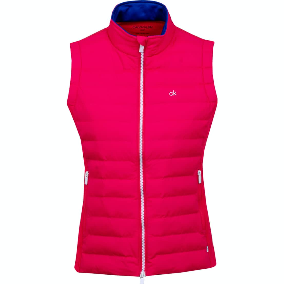 Womens 39N Gilet Punch Pink/White - SS19