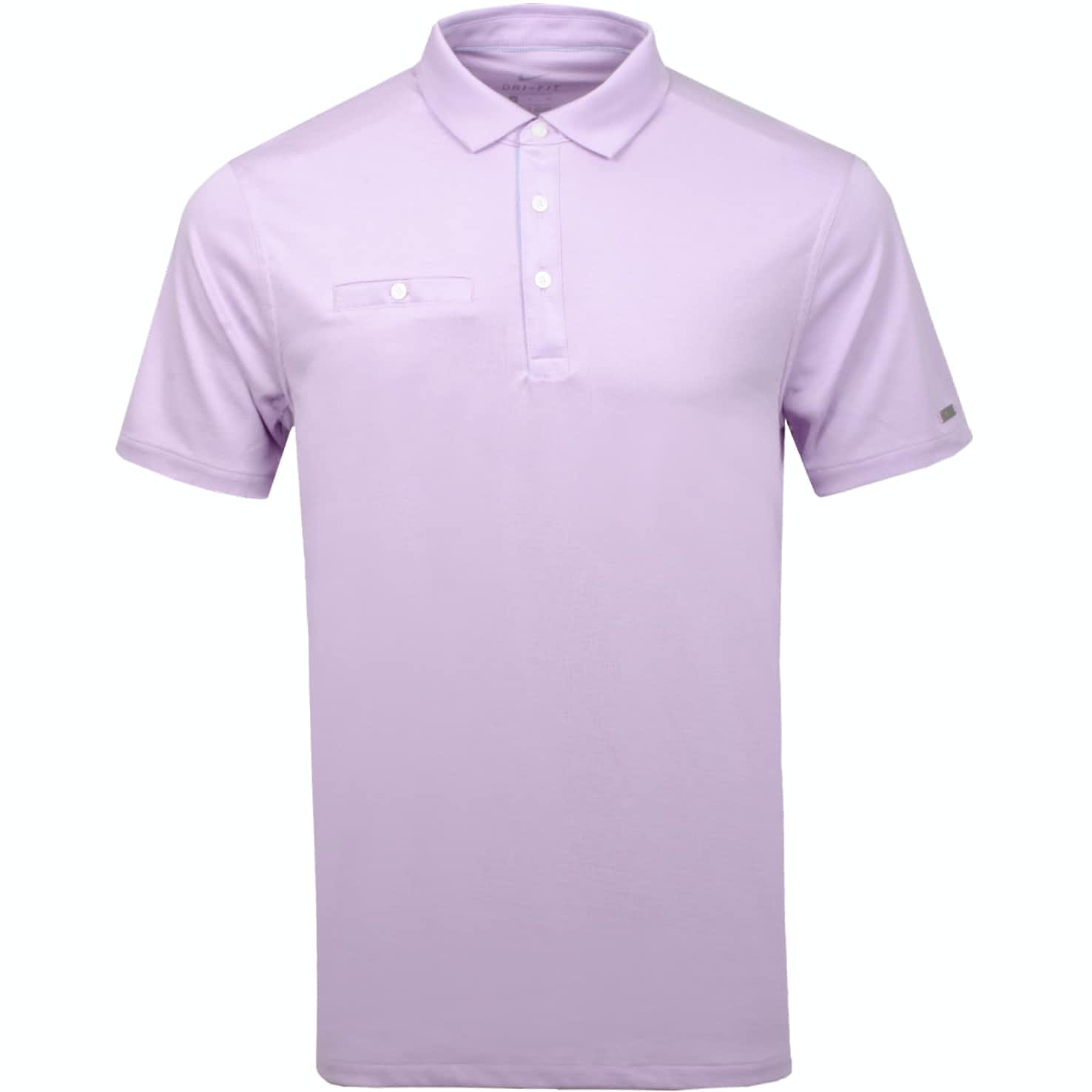 Dri-Fit Player Solid Polo Lilac Mist/Brushed Silver - Summer 19
