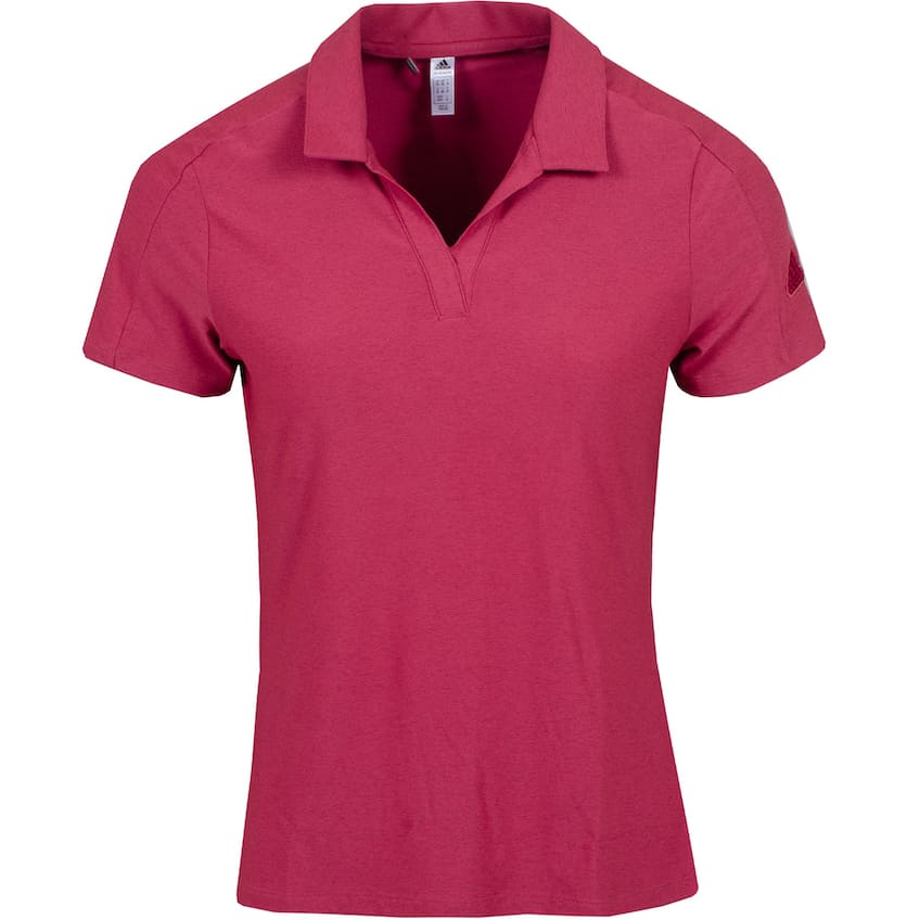 Womens Go-To Polo Shirt Wild Pink - SS21