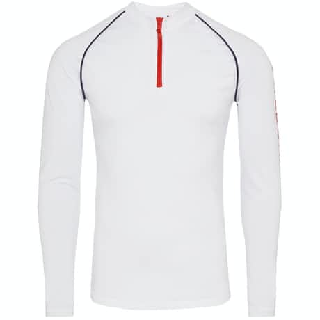 Bray Piping Mid White/Red - SS19