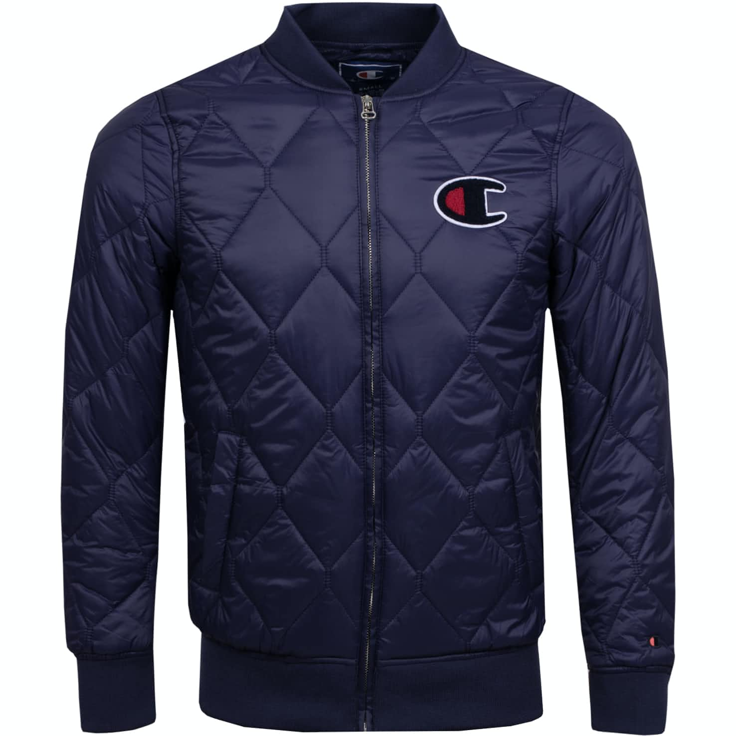 Full Zip Quilted Jacket Navy - SS19