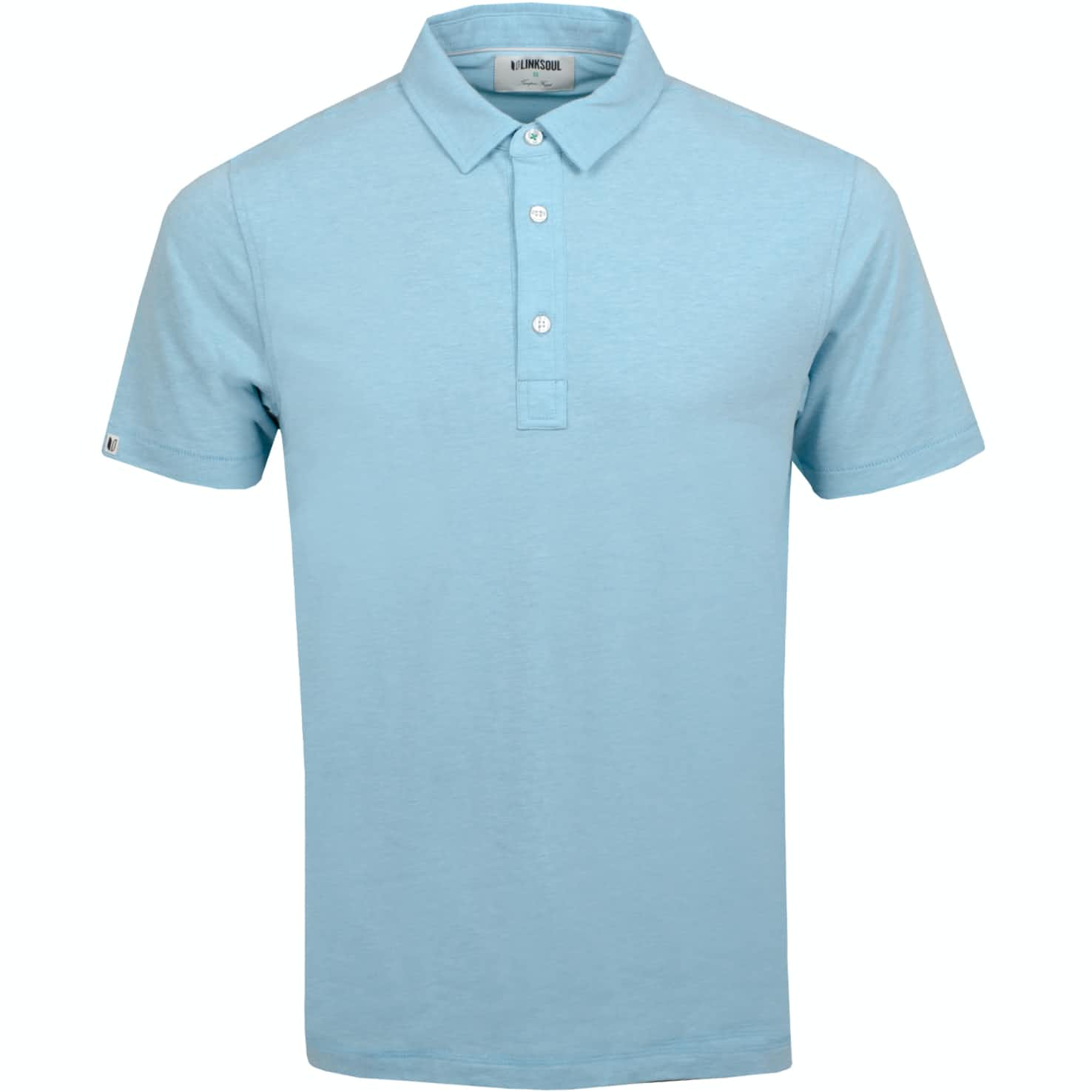 Dry Tech Polo Tidepool Heather - SS19