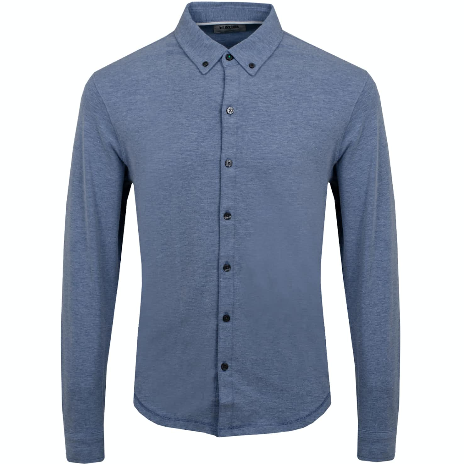 Dry Tech Full Button LS Polo Dawn Heather - SS19