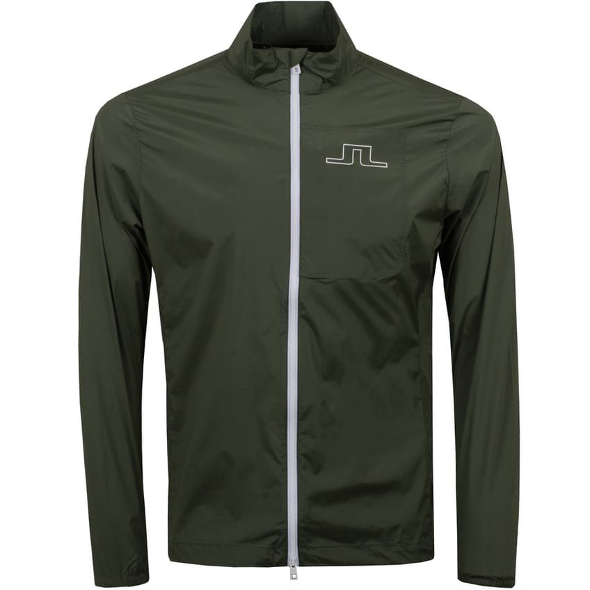 Ash Light Packable Stretch Wind Pro Jacket Thyme Green - SS21