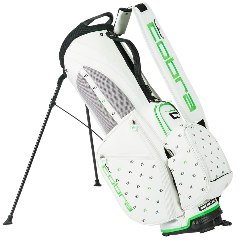 Cobra Crown C Ditsy Stand Bag Bright White - SS21