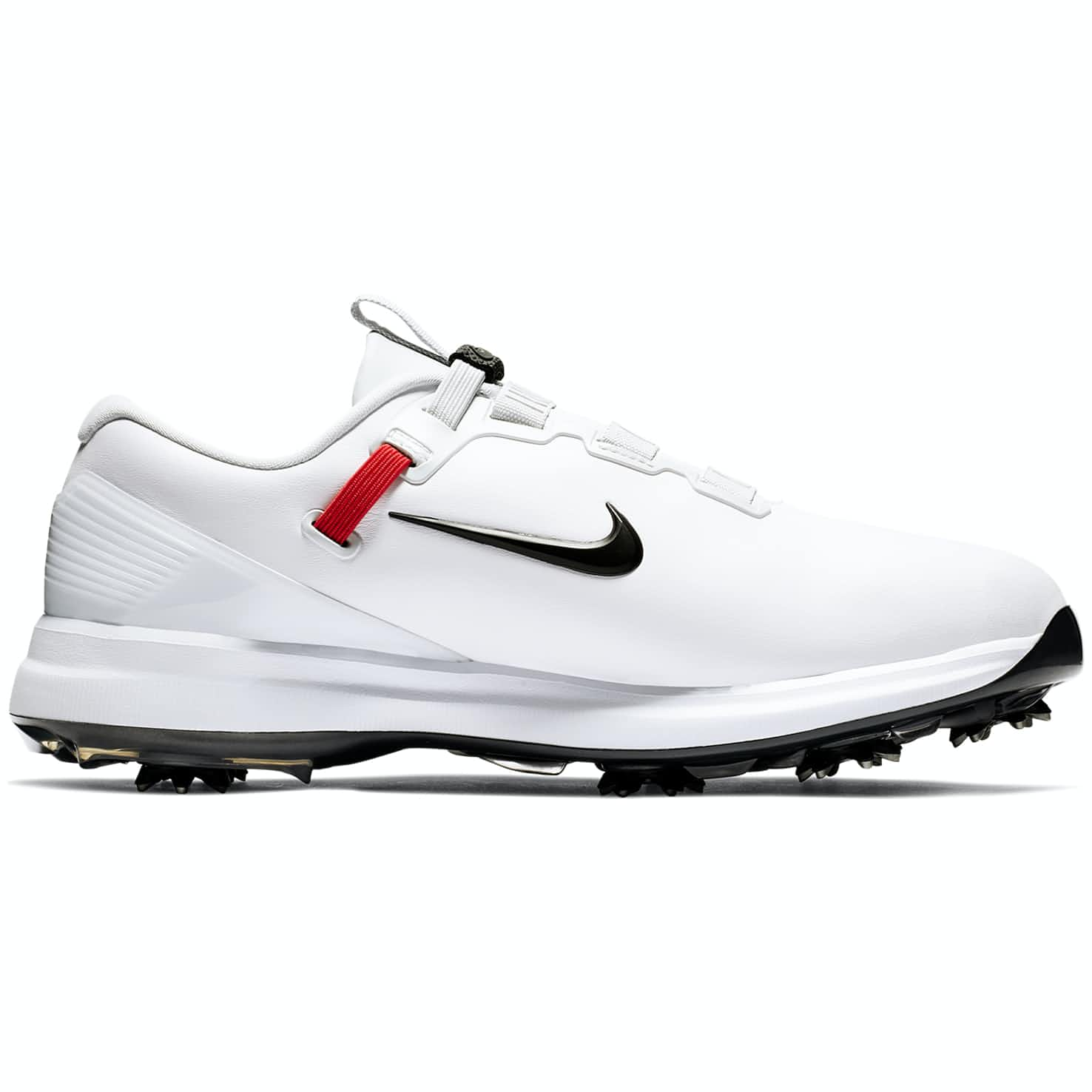 TW '19 QS Golf Shoe White/Black/Metallic Cool Grey - Summer 19