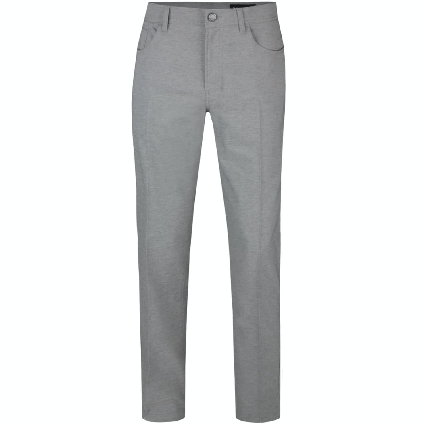 Heathered Five Pocket Pants Grey - 2018