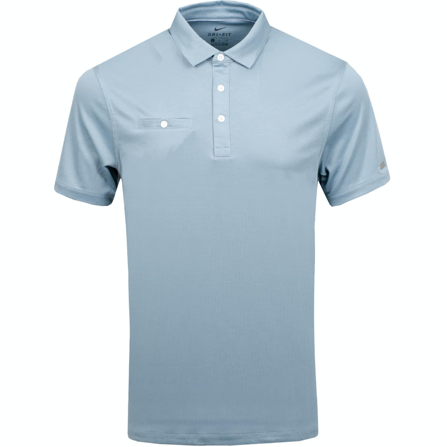 Dri-Fit Player Solid Polo Aviator Grey/Brushed Silver - Summer 19