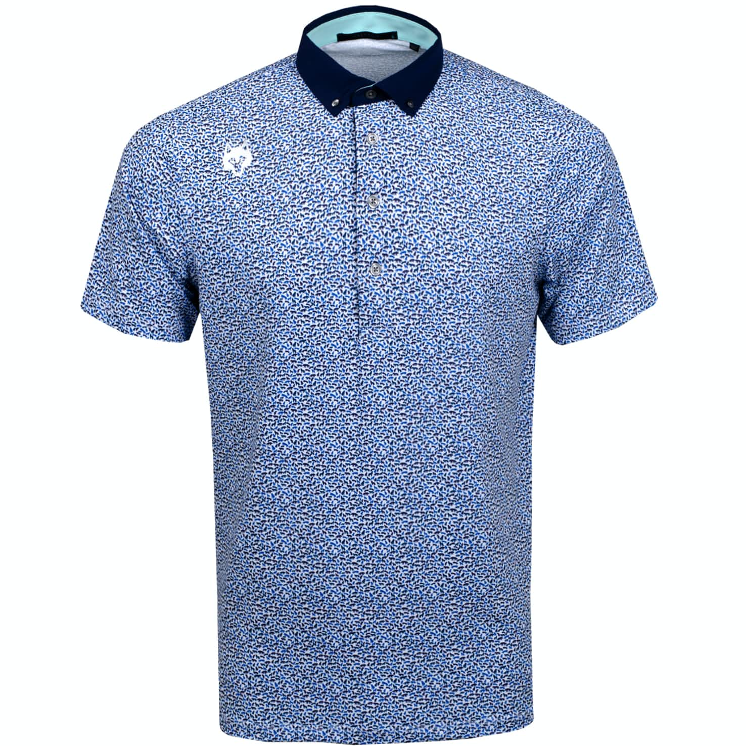 Wolfpack Logo Polo Arctic - 2019