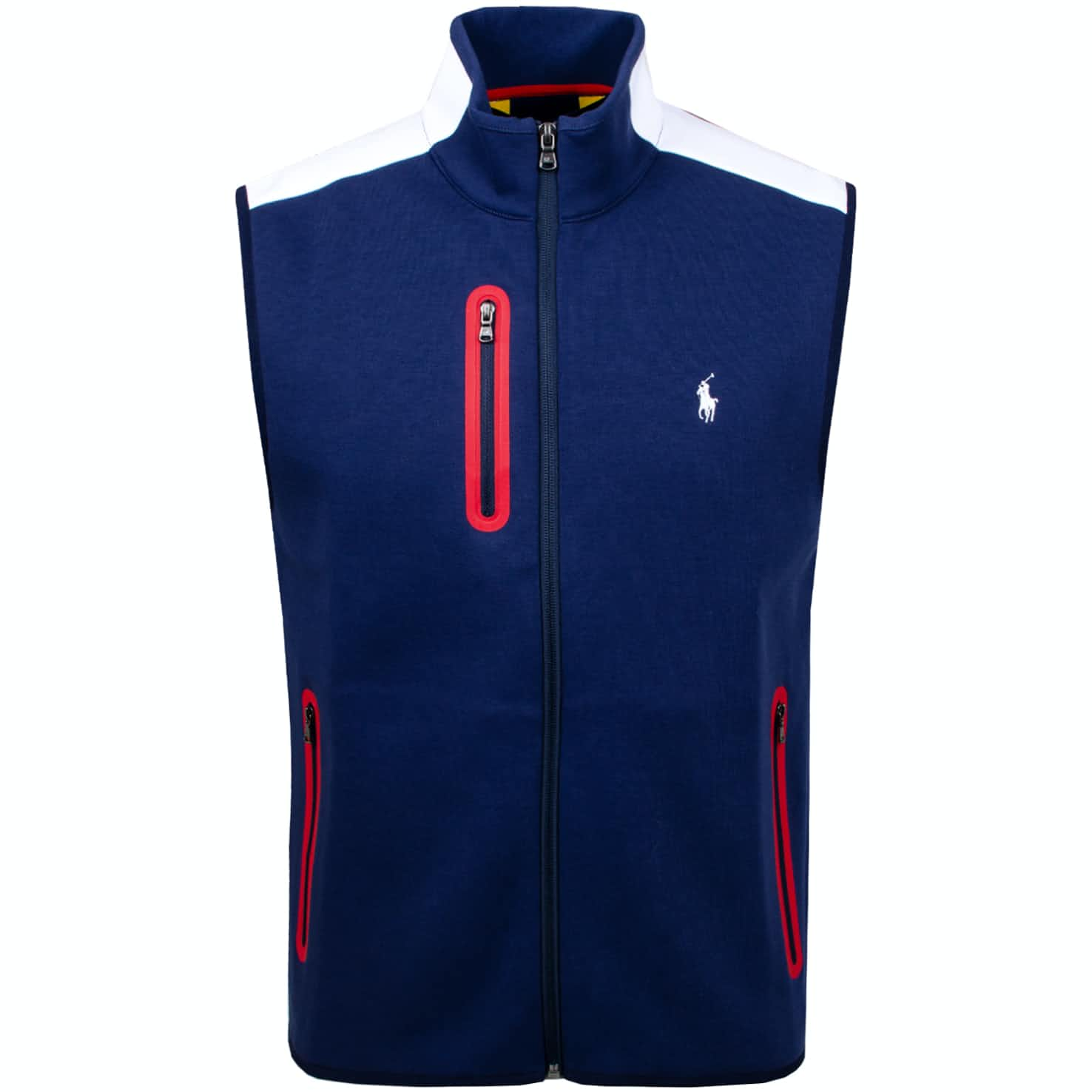 x Justin Thomas Double Knit Vest French Navy - AW19