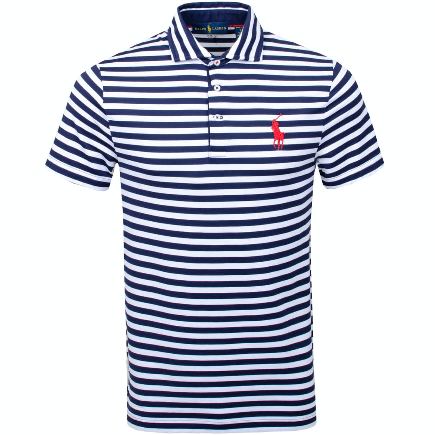 x Justin Thomas YD Pique French Navy/White - AW19