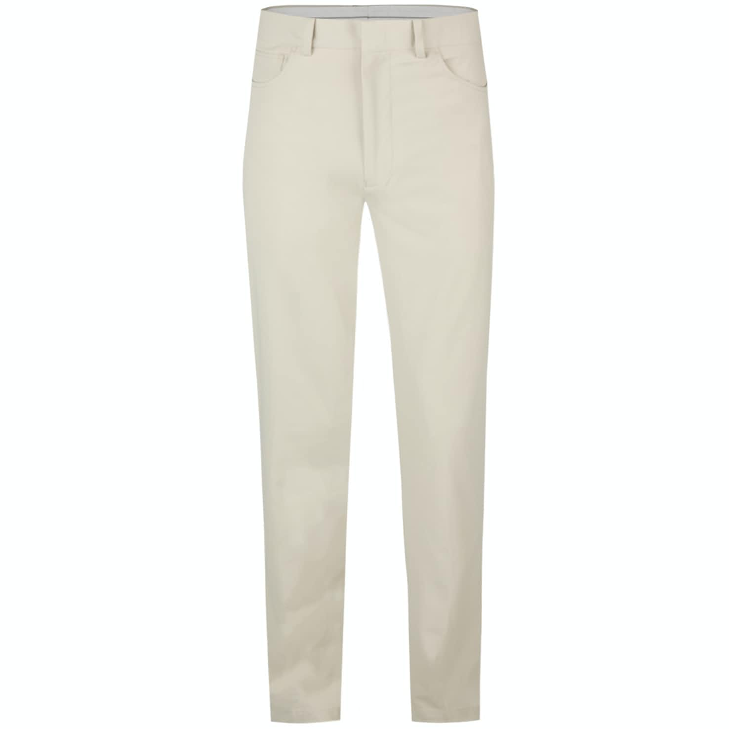 Five Pocket Athletic Fit Pants Basic Sand - AW19